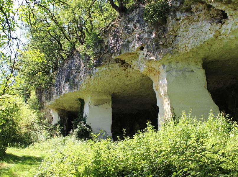 Carrières de Chauvigny
